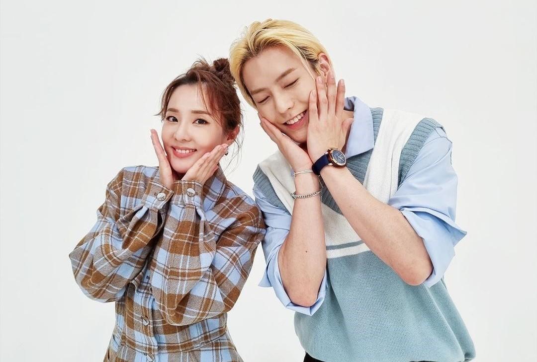산다라박X이민혁, 힐링 비주얼 케미 [리포트:컷]