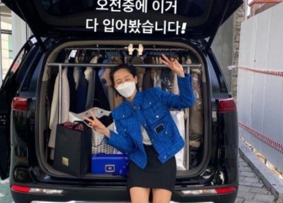 김나영, 패셔니스타 인정…이걸 다? [리포트:컷]