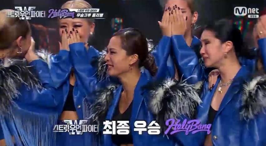 '스우파' 홀리뱅, 무대 찢고 최종우승... 2위 훅→3위 라치카[종합]
