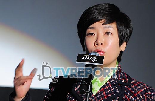 [T포토] 김미화 '개구리소년 실종사건, 아주 생생히 기억해요!'