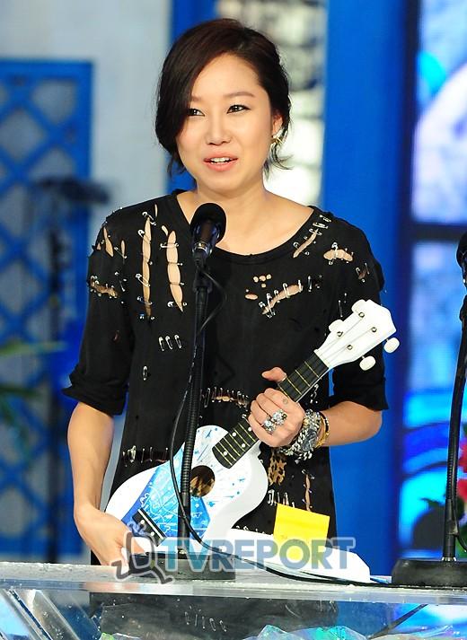 [T포토] 공효진, 2011 20's 초이스 2관왕