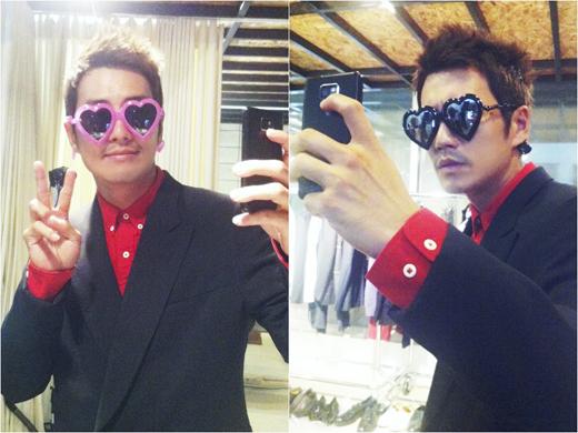 주상욱, 촬영장서 뭐하니 '핑크색 선글라스 썼더니 아줌마?'