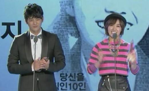 '2012 SIA' 서인국-정은지, '10대 스타일 아이콘' 공동수상