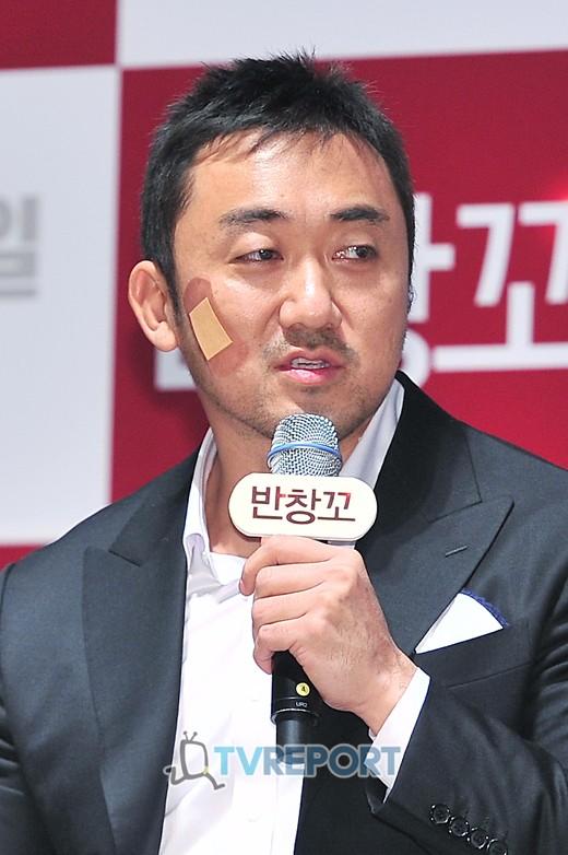 """'반창꼬' 마동석 """"여자친구와 결혼, 이왕 늦은 김에 천천히 하겠다"""""""
