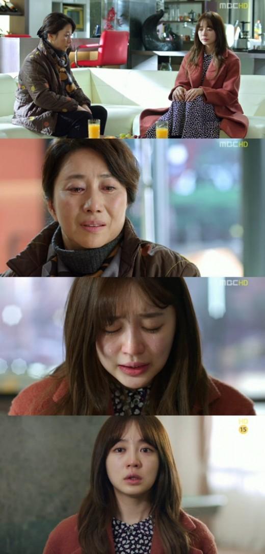 """'보고싶다' 윤은혜, 어머니와 눈물의 상봉 """"잘못했어요, 엄마"""""""