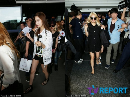 [독점] 소녀시대 등장에 타이베이 공항이 '들썩'