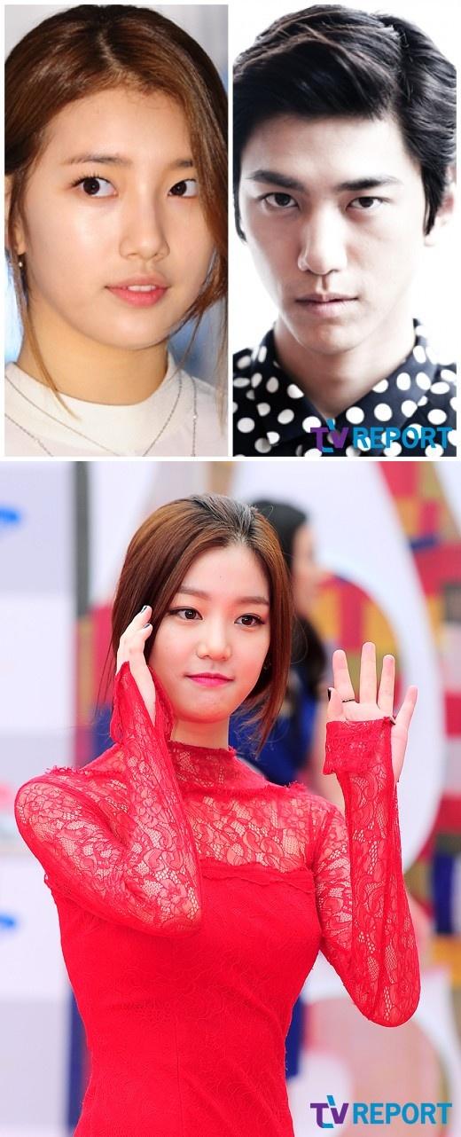 """수지-성준 열애설, 네티즌 """"영상 속 '모자이크녀' 배우 이유비"""" 주장"""