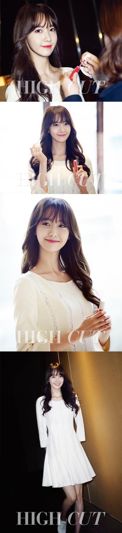 소녀시대 윤아, 자체발광 미모…상하이 빛낸 레드립