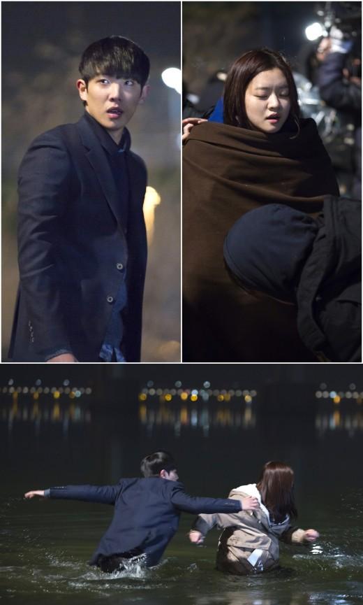 '풍문으로 들었소' 이준·고아성, '한강 동반입수' 첫촬영 공개