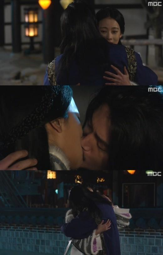 '빛나거나미치거나' 장혁-오연서, 눈물의 작별 키스 '애틋'