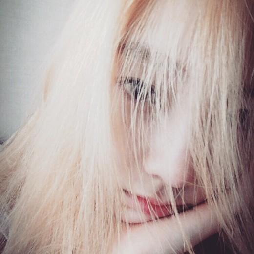 """'소녀시대' 태연, 금발의 귀요미…""""사랑스러워"""""""