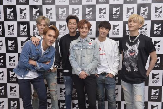 비스트, 日레이블 '비스트 뮤직' 5월 신곡 1위…3달 연속