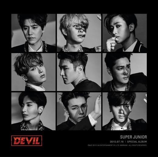 슈퍼주니어, 16일 데뷔 10주년 스페셜 앨범 'Devil' 발매