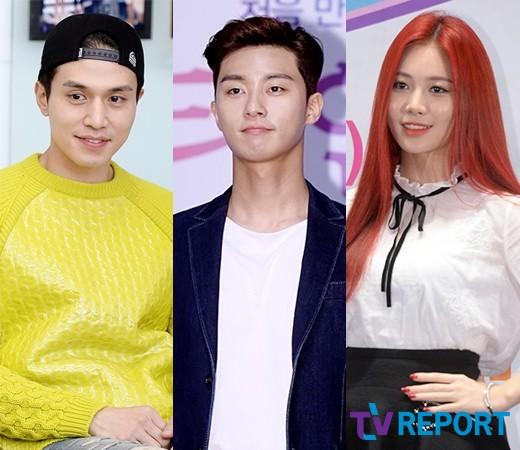 이동욱·박서준·유라, SBS '런닝맨' 출격