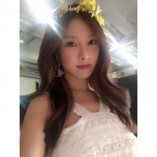 """'밤선비' 김소은, 청초한 드레스자태…""""사랑스러워"""""""