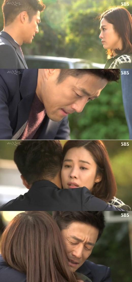 '애인있어요' 지진희, 기억잃은 김현주에 눈물포옹