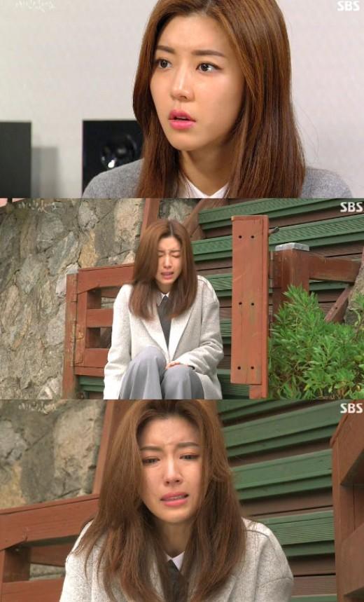 """'애인있어요' 불륜녀 박한별, 김현주 죽음소식에 충격 """"눈물펑펑"""""""