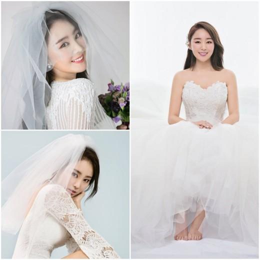 '3월의 신부' 미스에스 제이스, 결혼 앞두고 웨딩화보 공개