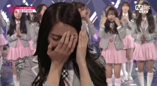 '프로듀스101' 임나영, 10위…가장 먼저 데뷔 확정