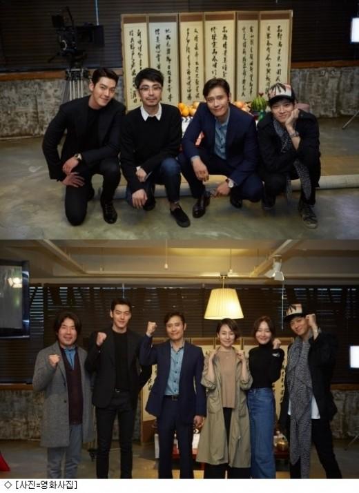 이병헌·강동원·김우빈, '마스터' 고사 현장…첫 만남부터 영화다