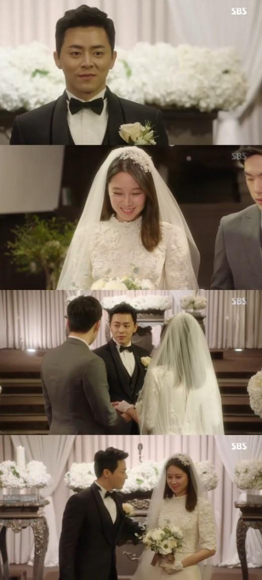 '질투의화신' 조정석♥공효진, 결혼 부부 됐다…고경표 사회