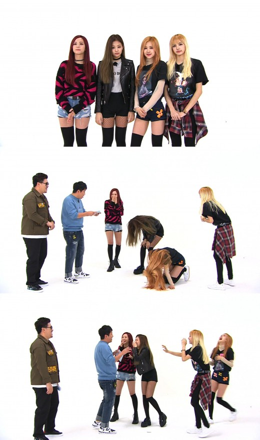 "[TV@픽] ""양현석 성대모사까지"" '주간아이돌' 블랙핑크, 예능 신고식 성공적"