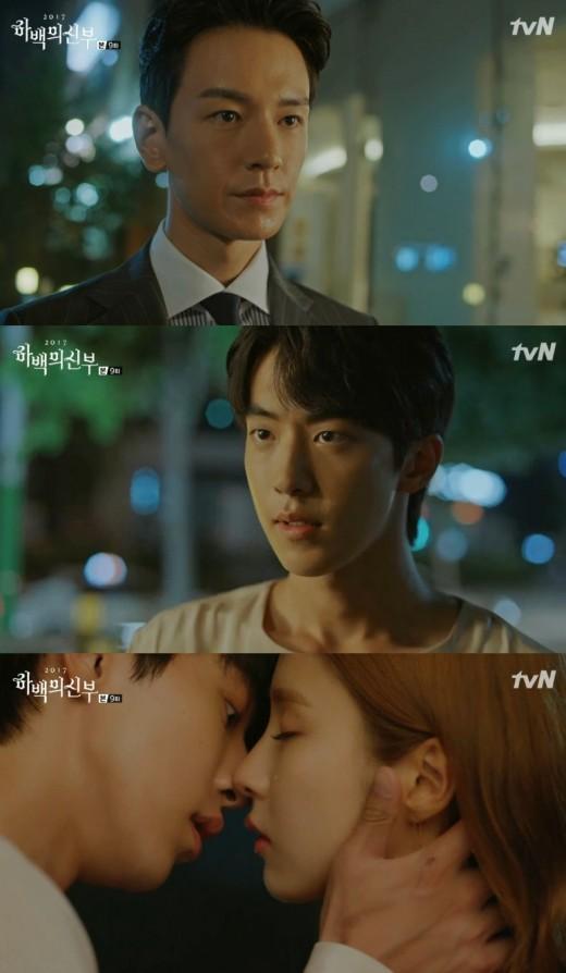 '하백' 남주혁♥신세경, 눈물의 입맞춤... 분노한 임주환[종합]