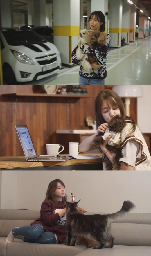 [TV@픽] '대화가 필요한 개냥' 윤은혜, 반려견 라이프 첫 공개…무한 애정