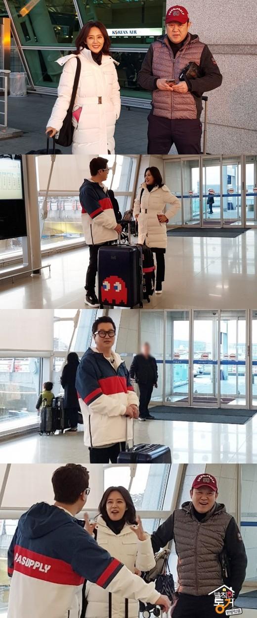 [TV@픽] '발칙' 오현경·김구라·지상렬, 극비리 여행 포착